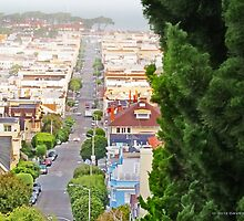 Broderick Street - San Francisco by David Denny