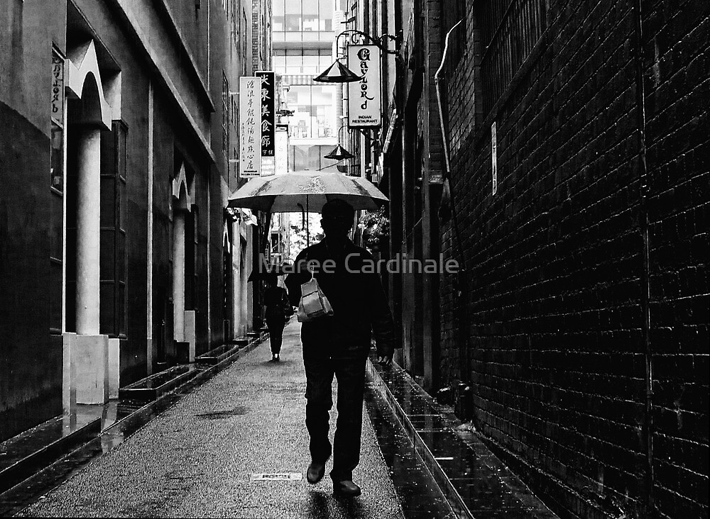 alley man by Maree Cardinale