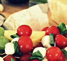 Cheese platter by Karen Tregoning