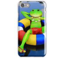 Floating Down Easy Street iPhone Case/Skin