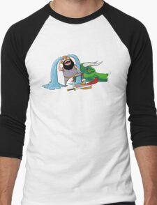 FUS RO ARRGGHHHH Men's Baseball ¾ T-Shirt
