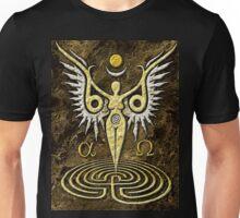 Angelic Bird Goddess Unisex T-Shirt