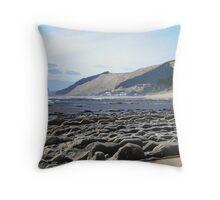 Mataikona coastline Throw Pillow