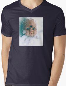 Snow Doll Mens V-Neck T-Shirt