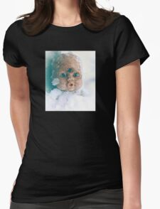 Snow Doll Womens Fitted T-Shirt