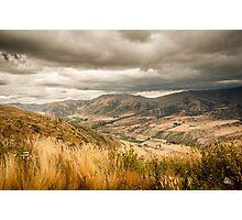 Crown Range Road Otago Photographic Print