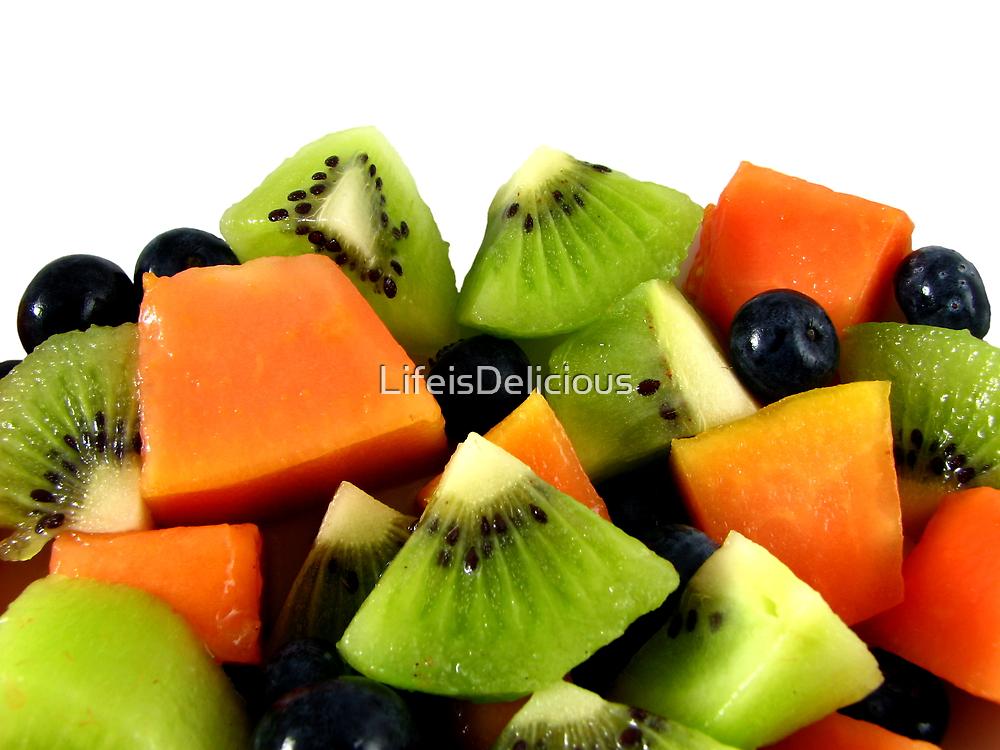 Red Papaya Fruit Salad by LifeisDelicious