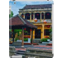 Hoi An Street Scene 5 iPad Case/Skin