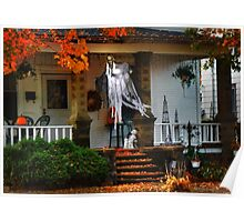 Ghost on the Porch Poster