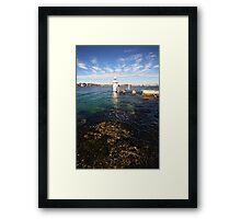 Bradley's Head Lighthouse Framed Print