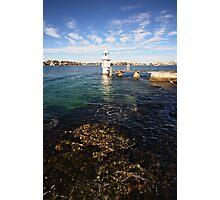 Bradley's Head Lighthouse Photographic Print