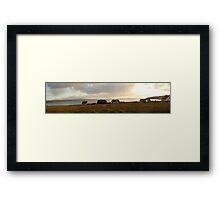gairloch, scotland Framed Print
