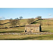 Wensleydale Barns Photographic Print