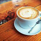 Sip Coffee by Eliza Sarobhasa