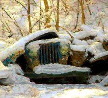 The Crushing Burden of Winter by wiscbackroadz