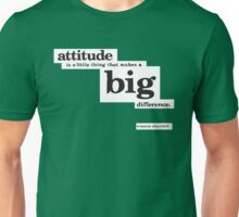 Winston Churchill Quote Typography Unisex T-Shirt