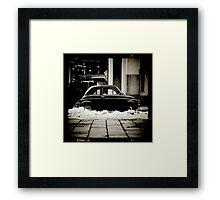 Vintage  Italian Car by Marco Fedele Framed Print