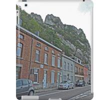 Driving through Dinant, Belgium iPad Case/Skin
