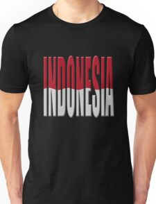 Indonesia flag Unisex T-Shirt