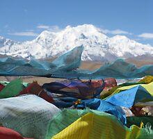 Tibetan landscape by Sam Waldron