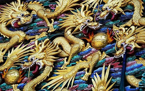 Fighting Dragons 1 by barnabychambers