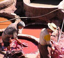 Fez, worker, dye pits by tmcknzld