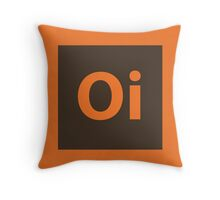 Oi. Throw Pillow