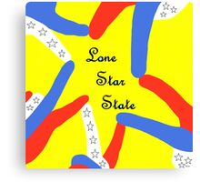 LONE STAR STATE Canvas Print