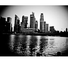 Singapore Photographic Print