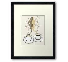 For the Love of Coffee Framed Print