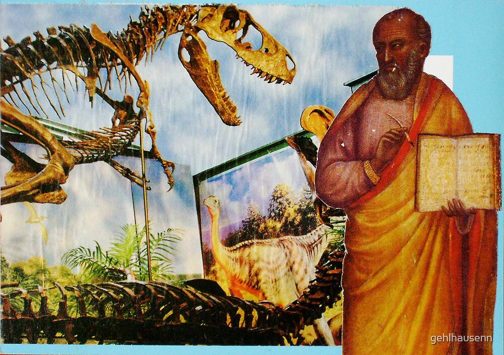 Patron saint of evolution by gehlhausenn