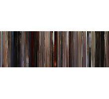 Moviebarcode: Jackie Brown (1997) Photographic Print