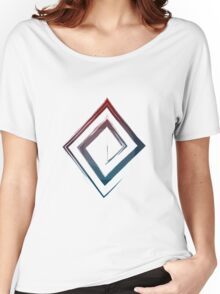 Spiral Rhombus - Color Edition Women's Relaxed Fit T-Shirt