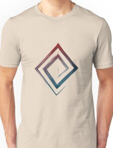 Spiral Rhombus - Color Edition Unisex T-Shirt