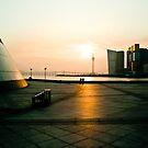 Sunset in Macau by miametro