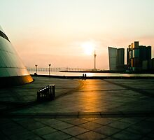Sunset in Macau by miametro