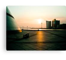 Sunset in Macau Canvas Print