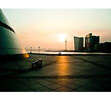 Sunset in Macau Photographic Print