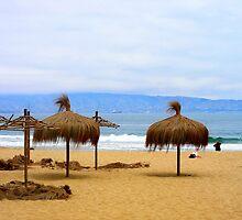 Playa de Reñaca. Viña del Mar- Chile by cieloverde