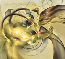 Budding fruit by Fractal artist Sipo Liimatainen