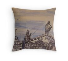 FAMOUS ROOFS OF LONDON UK 5  Throw Pillow