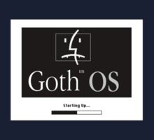 Goth OS (System 7) Kids Clothes