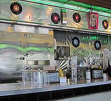 Emerald Diner Shines by Monnie Ryan