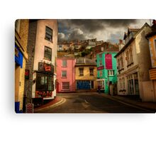 Brixham Street Canvas Print
