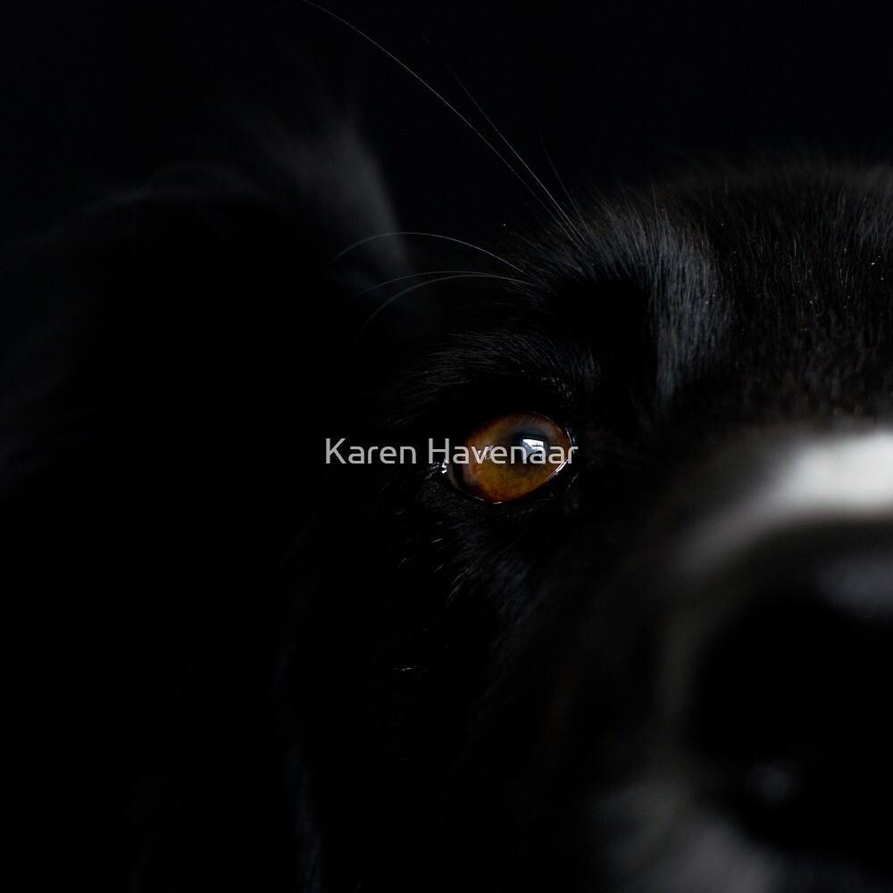 Square Black by Karen Havenaar