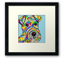 Wire Fox Terrier Framed Print