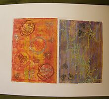 TEXTURES & FABRIC DESIGNS 13 brings me energy and brings me calm ~ colour therapy  by Tuartkatz