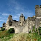 The Castle Ramparts Carcassonne by jacqi