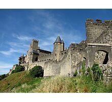 The Castle Ramparts Carcassonne Photographic Print