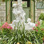Cherubs in Floral Heaven by Marilyn Cornwell